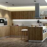 Cocina 15a-0001 de madera laminada con poro