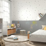 Armario montessori kids 12i-0001 color gris y beige vista completa