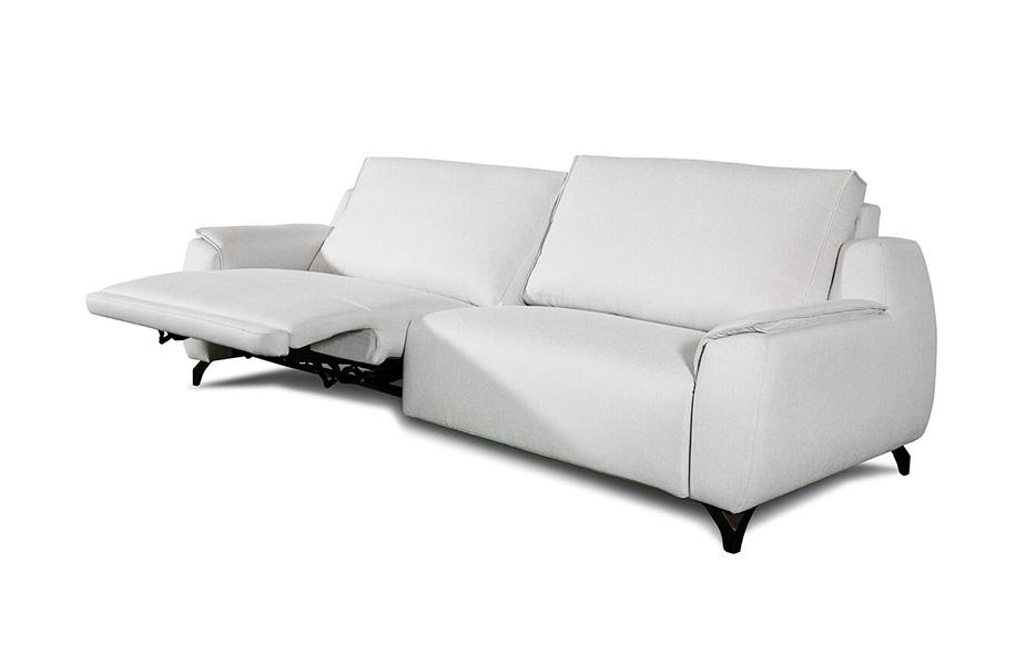Sofá 2-3 plazas 10d-0014 color blanco vista detalle