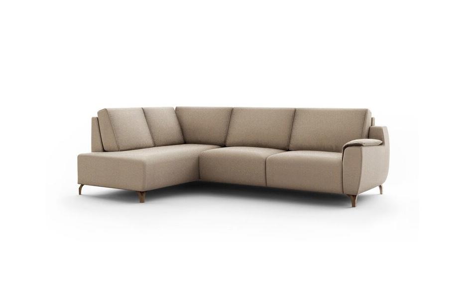 Sofá rinconera 10c-0002 tapizado beige vista técnica