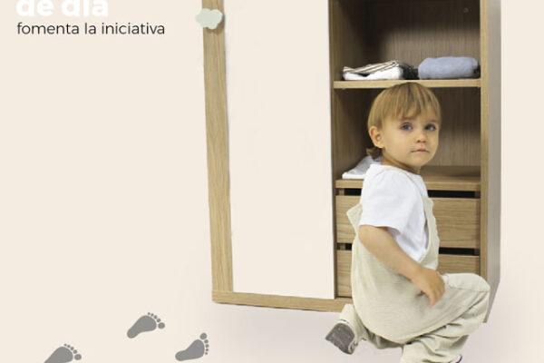 Armario de día montessori