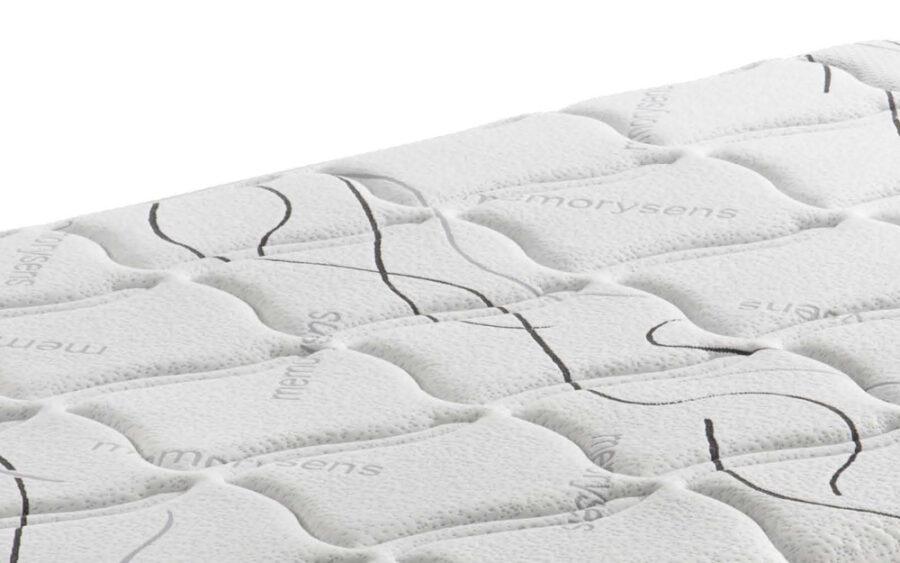 tapizado de colchon de muelles bonell 16a-0001 blanco vista detalle