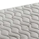 tapizado colchon de muelles bonell 16a-0002 blanco vista detalle