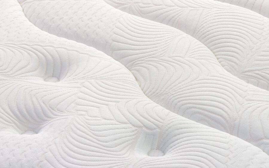 Colchón de base de muelles ensacados 16a-0004 blanco vista de detalle