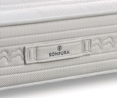Asa de colchón de muelles ensacados 16a-0004 color blanco vista de detalle