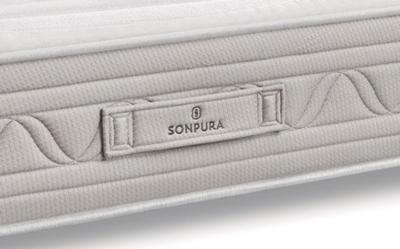 Asa de colchón de muelles ensacados 16a-0005 color blanco vista de detalle