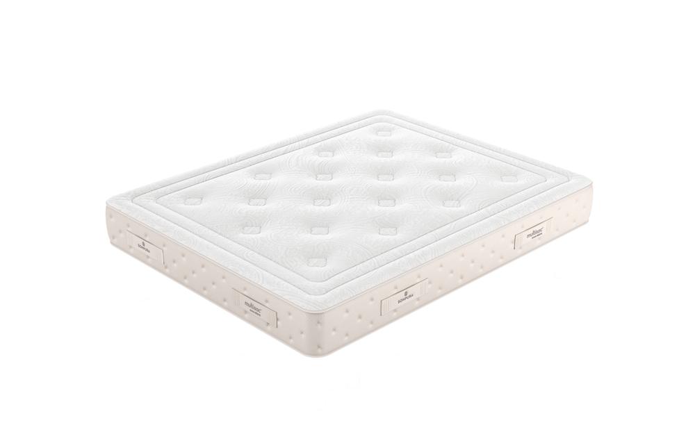 Colchón de muelles ensacados 16a-0001 color blanco vista técnica