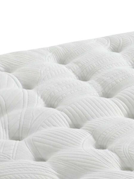 colchon de muelles ensacados 16a-0012 blanco vista detalle