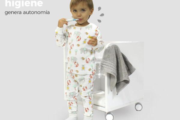 Mueble higiene Montessori