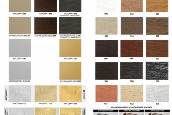 Ficha de acabados y colores de dormitorios de matrimonio 02