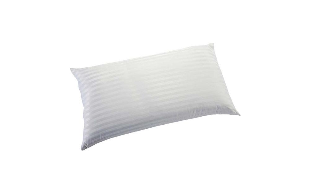Almohada fibra de doble hueco 16d-0007 color blanco vista técnica