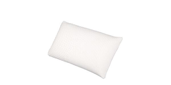 Almohada látex 16d-0001 color blanco vista técnica