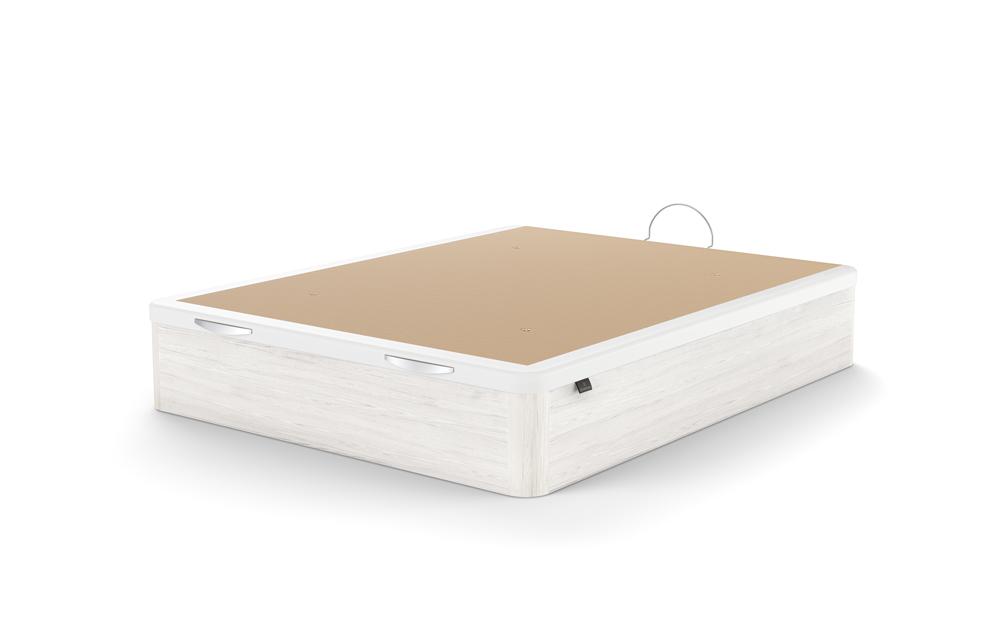 canape con apertura frontal 16b-0002 blanco beige vista tecnica cerrado