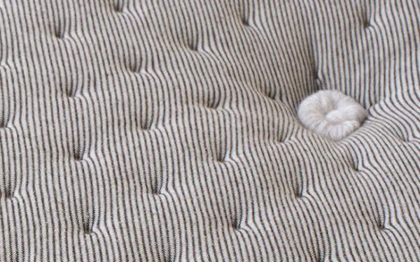 tapizado colchon con nucleo flexible viscoelastico 16ac-0004 beige vista detalle