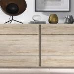 Cómoda de dormitorio de matrimonio 11a-0025 madera vista frontal