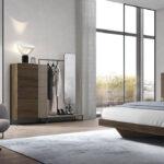 Cómoda de dormitorio 11a-0019 color beige y madera vista de detalle