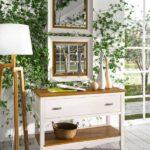 Cómoda de dormitorio y espejos 11a-0038 color blanco y madera vista de detalle