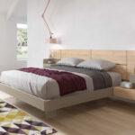 Dormitorio 11a-0018 beige y madera vista completa