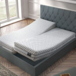 Dormitorio con colchón de núcleo flexible viscoelástico 16ac-0003 vista ambiente