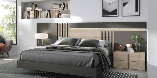 Dormitorio 11a-0026 color marrón y madera vista frontal
