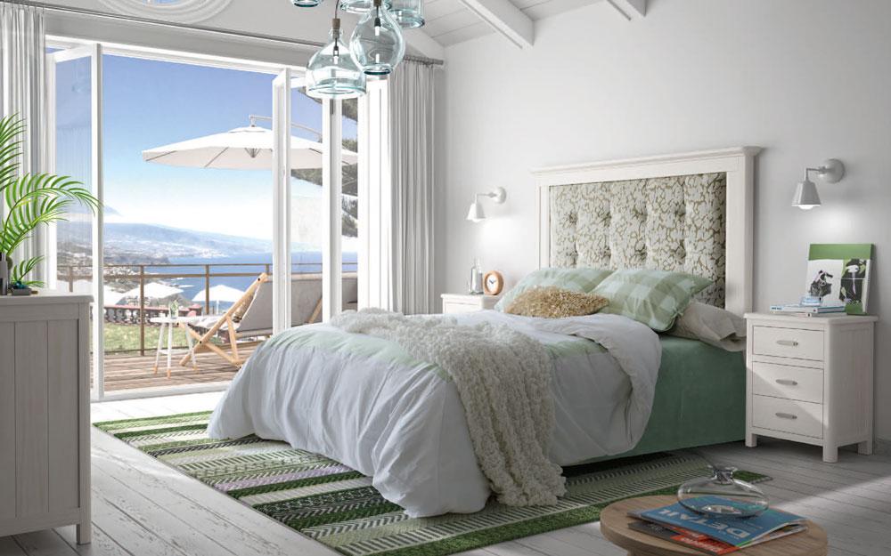 Dormitorio 11a-0031 color blanco vista general