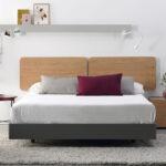 Dormitorio de matrimonio 11a-0001 acabado roble vista completa
