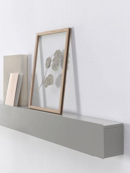 Estantería de dormitorio de matrimonio 11a-0001 color gris