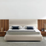 Dormitorio de matrimonio 11a-0005 color beige vista frontal