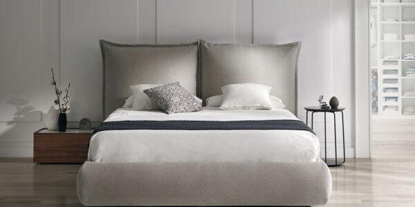 Dormitorio de matrimonio 11a-0006 color beige vista frontal