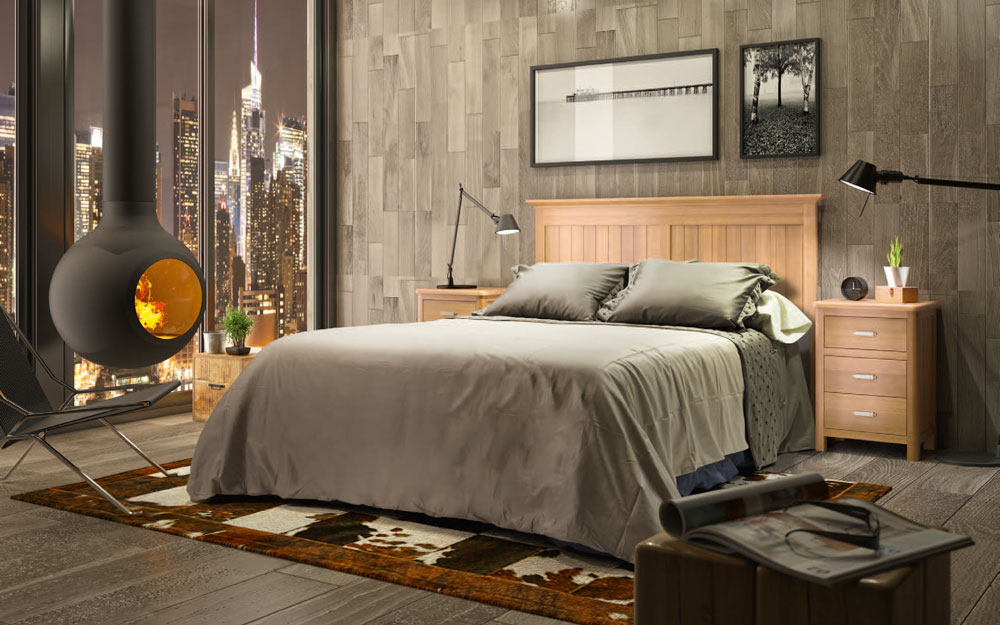 Dormitorio 11a-0035 madera vista general