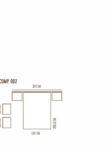 Ficha técnica de dormitorio 11a-0020