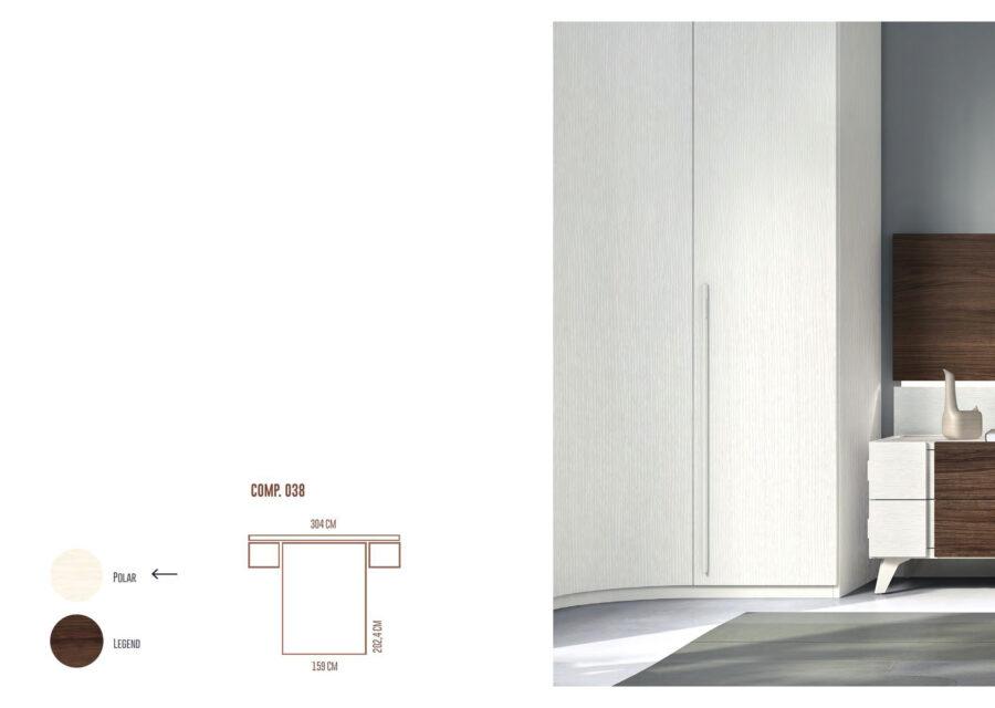 Ficha técnica de dormitorio de matrimonio 11a-0029