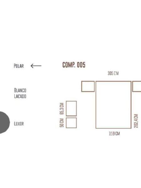 Ficha técnica dormitorio 11a-0023