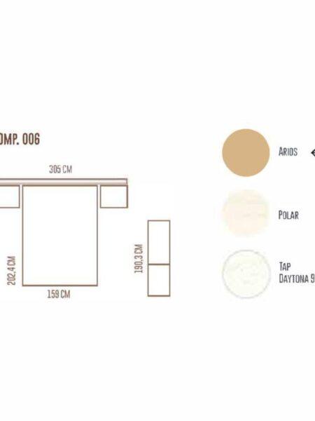 Ficha técnica de dormitorio 11a-0024