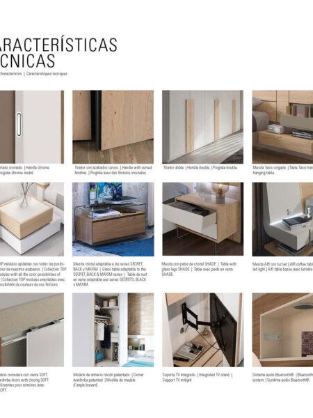 Ficha técnica de dormitorios