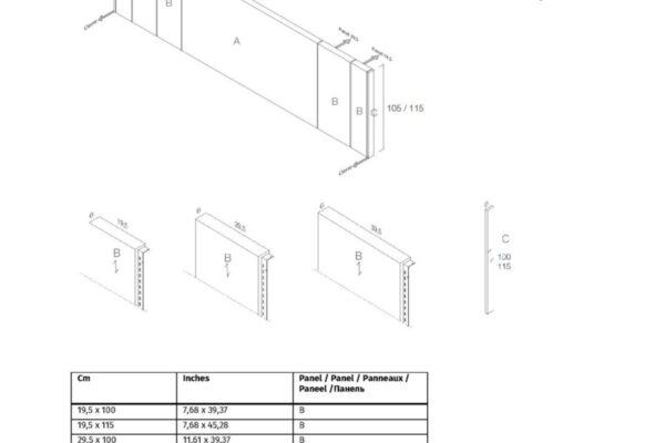 Ficha técnica de medidas 11a-0004 cabecero