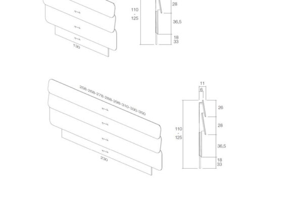 Ficha técnica de medidas cabecero 11a-0002