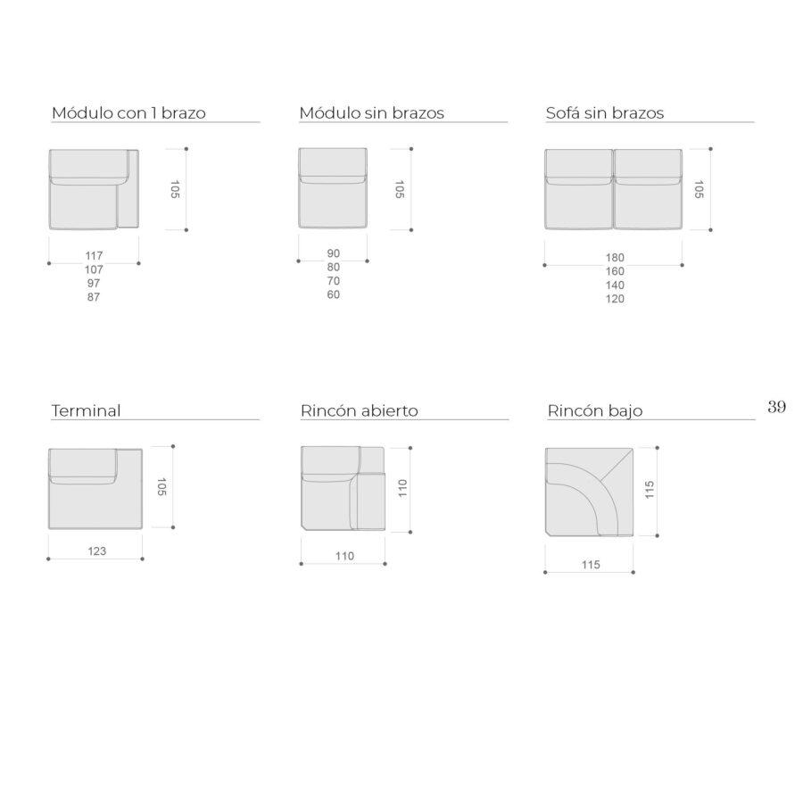 Ficha técnica módulos 10b-0019-10c-0005-10d-0021