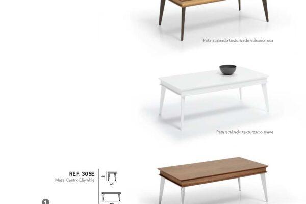 Ficha técnica de mesa auxiliar 14e-0008