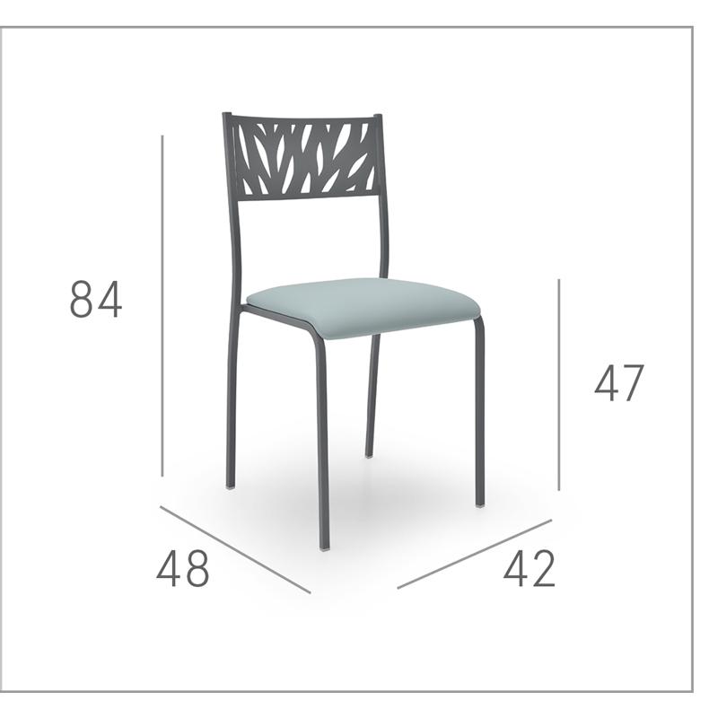 Ficha técnica de silla de cocina 15c-0001