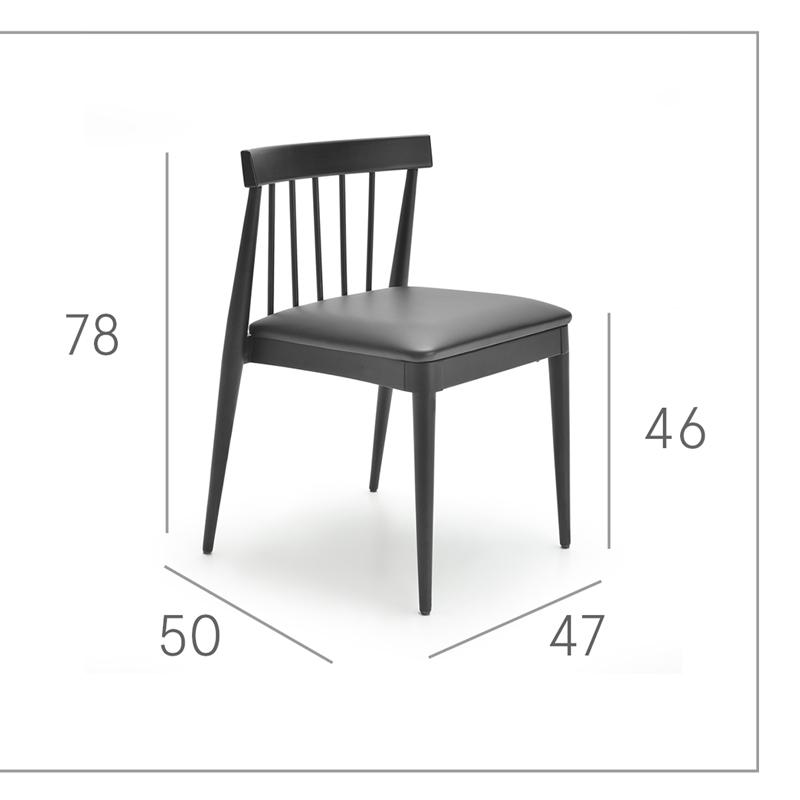 Ficha técnica de sillas de cocina 15c-0002-1