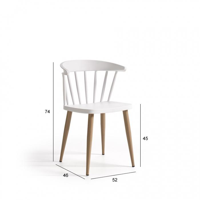 Ficha técnica de sillas de cocina 15c-0008