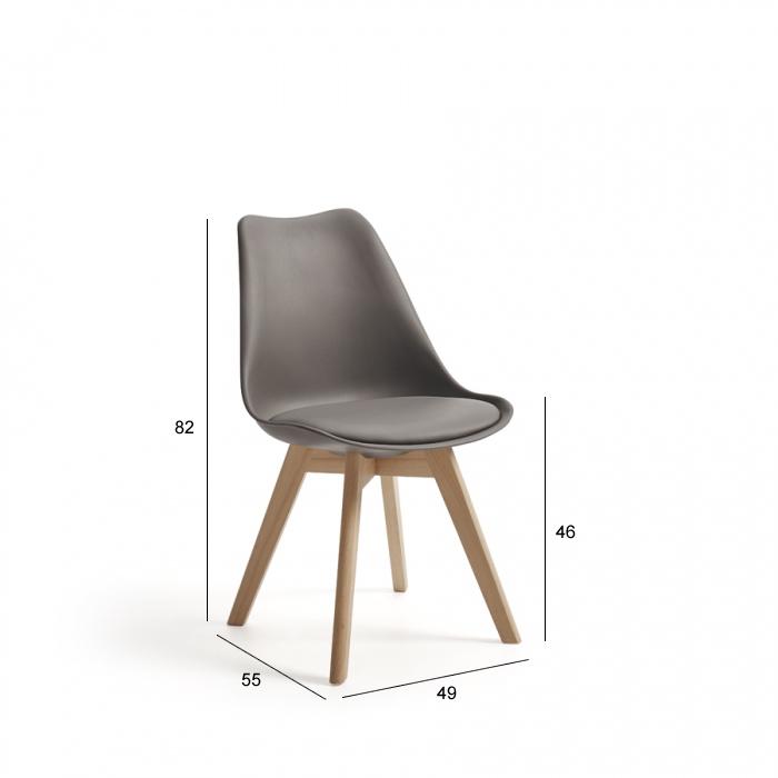 Ficha técnica de sillas de cocina 15c-0011
