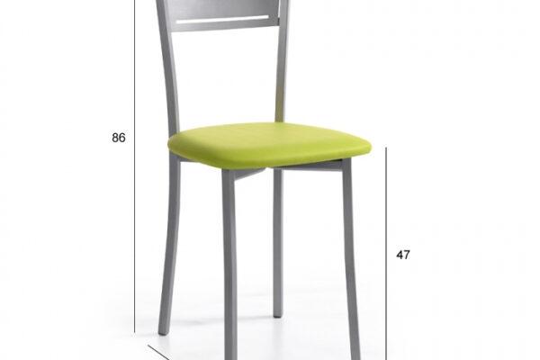 Ficha técnica de silla de cocina 15c-0012