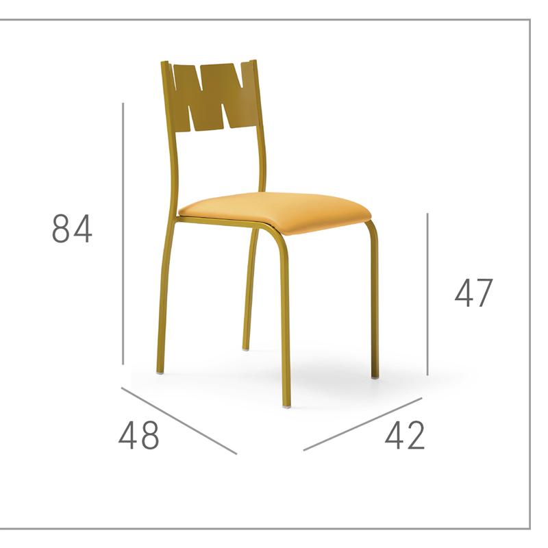 Ficha técnica de sillas de cocina 15c-0003