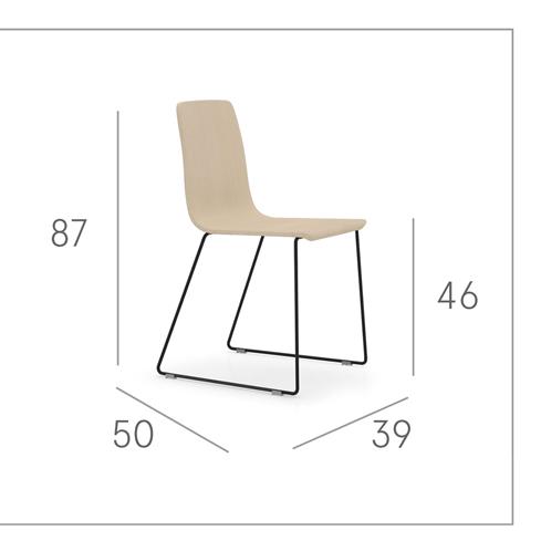 Ficha técnica de sillas de cocina 15c-0005