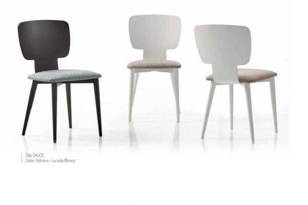 Ficha técnica de sillas de comedor 14f-0008