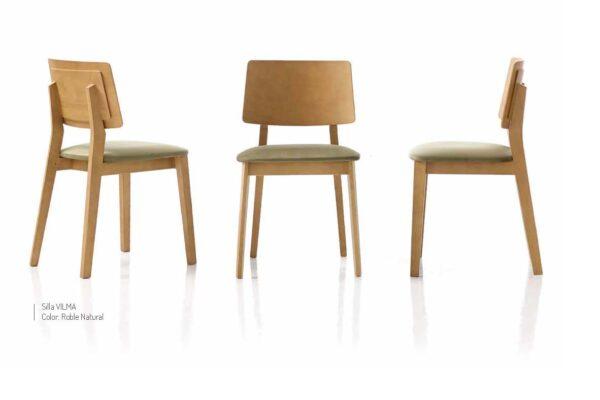 Ficha técnica de sillas de comedor 14f-0013