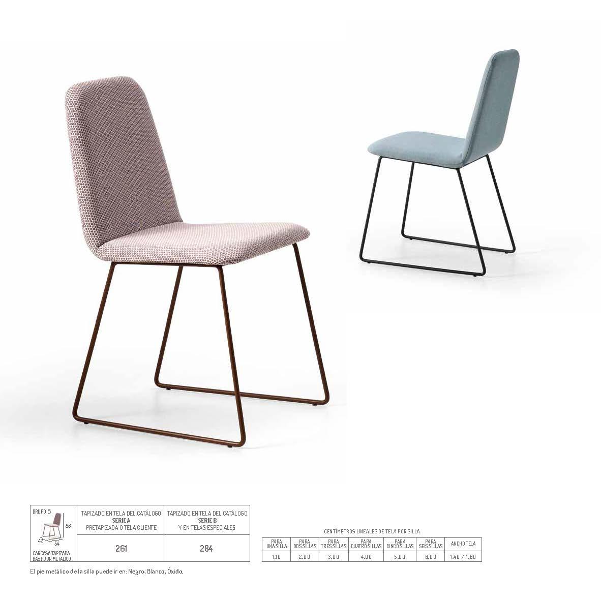 Ficha técnica de sillas de comedor 14f-0015