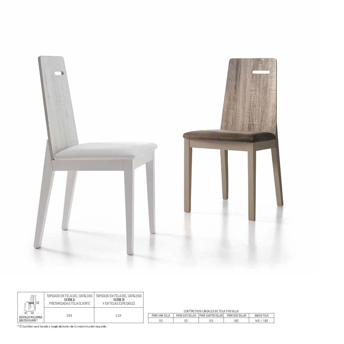 Ficha técnica de sillas 14f-00022